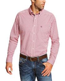 Ariat Men's Checkered Long Sleeve Shirt, , hi-res