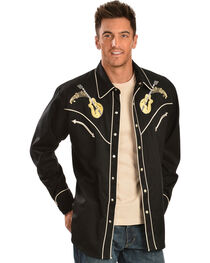 Scully Men's Rock N' Roll Western Shirt, , hi-res