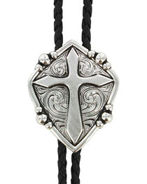 Cody James® Men's Cross Bolo Tie, , hi-res