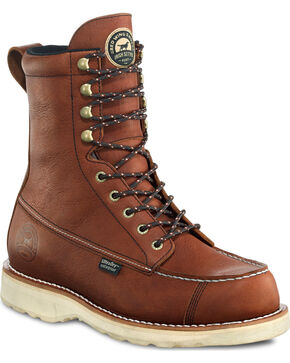 Red Wing Irish Setter Men's Wingshooter UltraDry Boots , Light Brown, hi-res