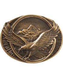 Montana Silversmiths Soaring Eagle Buckle, , hi-res