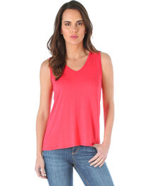 Wrangler Women's Open Back Tank Top, , hi-res