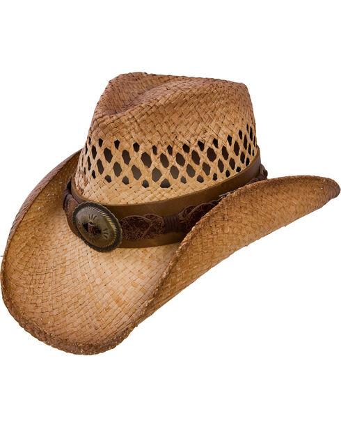 Charlie 1 Horse Women's Dirt Road Shapeable Straw Hat, Tea, hi-res
