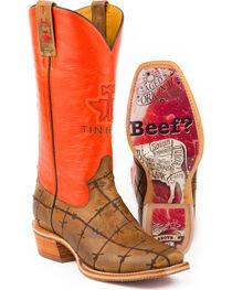 Tin Haul Men's Barbwire Western Boots, , hi-res