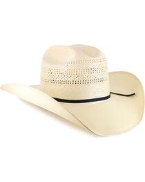 Resistol 20X Chase Straw Cowboy Hat, , hi-res