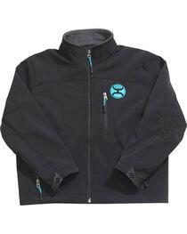 Hooey Boys' Black Fleece Lined Jacket , , hi-res