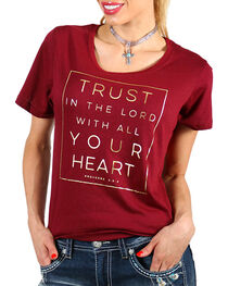 Grace & Truth Women's Graphic Tee, , hi-res