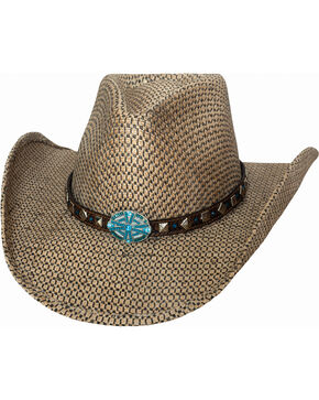 Bullhide Women's Don't Let Me Down Straw Hat , Natural, hi-res