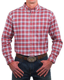 Noble Outfitters Men's Adobe Plaid Long Sleeve Shirt, , hi-res