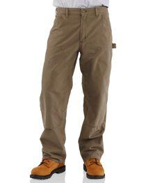 Carhartt Men's Double Front Canvas Dungaree Work Pants, , hi-res