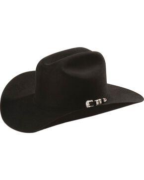 Justin 20X Fur Felt Cowboy Hat, Black, hi-res
