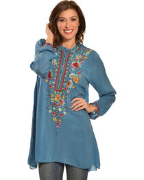 Johnny Was Women's Sable Tunic, , hi-res