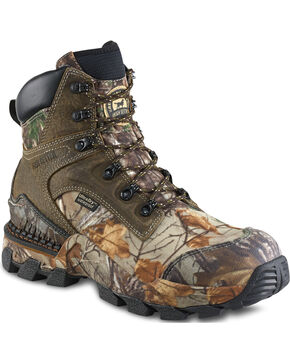 """Irish Setter by Red Wing Shoes Men's Realtree Xtra UltraDry 8"""" Hunting Boots - Round Toe, Camouflage, hi-res"""