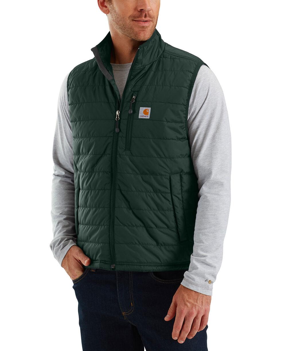 Carhartt Men's Gilliam Vest - Big and Tall , Green, hi-res