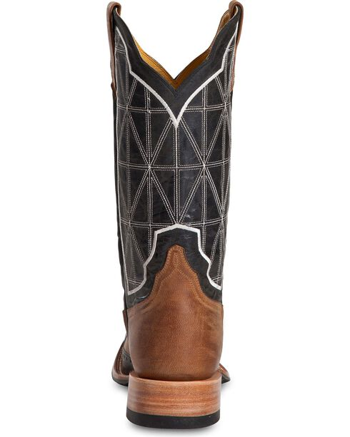 Cinch Men's Embroidered Square Toe Western Boots, Black, hi-res