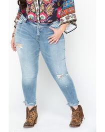 Silver Jeans Women's Kenni Boyfriend Jean - Plus Size, , hi-res