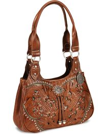 American West Women's Lady Lace Western Purse, , hi-res