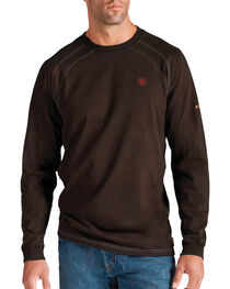 Ariat Flame Resistant Workwear Crew Long Sleeve T-Shirt - Big and Tall, , hi-res