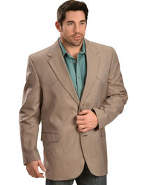Circle S Men's Textured Brown Western Sport Coat, , hi-res