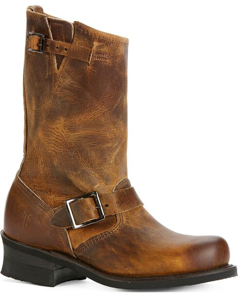Frye Women's Engineer 12R Boots, Dark Brown, hi-res