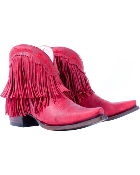Junk Gypsy by Lane Women's RedSpitfire Boots - Snip Toe, , hi-res