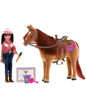 Paradise Horses Doll and Horse Playset, No Color, hi-res