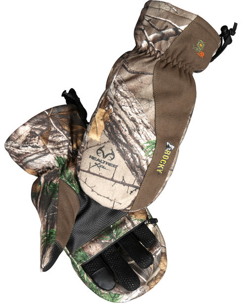 Rocky Prohunter Zip Finger Mittens , Camouflage, hi-res