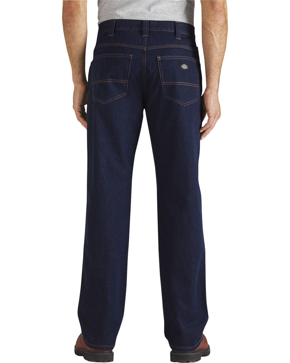 Dickies Men's Regular Fit Dura Denim Premium Cordura® Jeans, Rinsed, hi-res