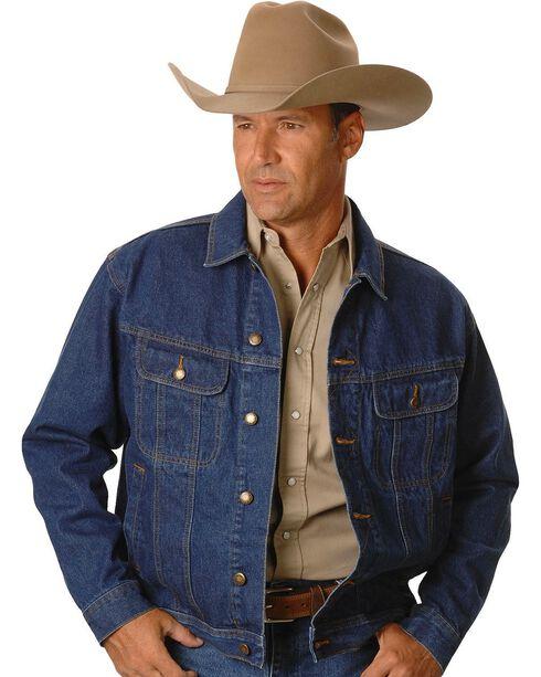 Wrangler Rugged Wear Men's Denim Jacket, Antique Indigo, hi-res