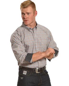 Cody James Men's Plano Plaid Long Sleeve Shirt, Blue, hi-res