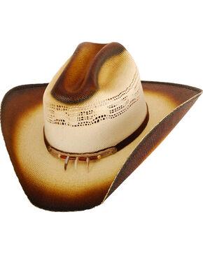 Western Express Boys' Gallop Straw Hat, Tan, hi-res