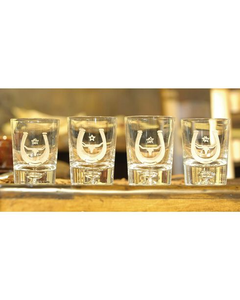 Rawhide Small Tumblers, Clear, hi-res
