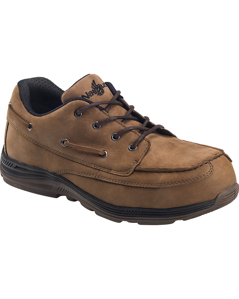 Nautilus Men's Brown EH Carbon Nanofiber Casual Work Shoes - Composite Toe | Tuggl