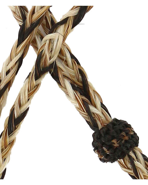 Colorado Horsehair Braided Stampede String, Natural, hi-res