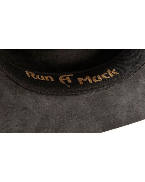 Bullhide Women's Straight Shooter Faux Felt Hat, Black, hi-res