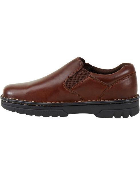 Eastland Women's Brown Newport Slip-On Shoes , Tan, hi-res