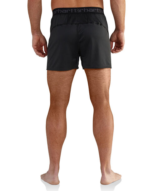 Carhartt Men's Climate Control Base Force Extremes Lightweight Boxer Briefs , Black, hi-res