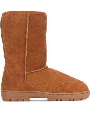 Staheekum Men's Sheepskin Welly Boots, Tan, hi-res