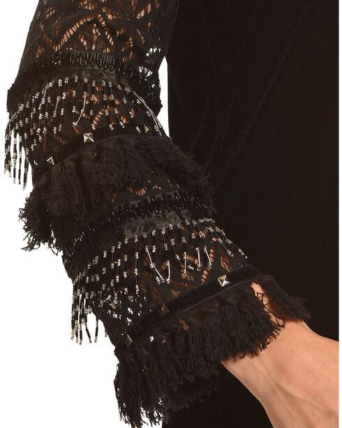Angel Premium Women's Black Lucinda Tunic , Black, hi-res