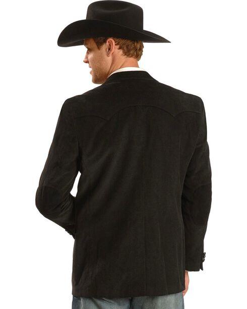 Circle S Men's Corduroy Sport Coat, Black, hi-res