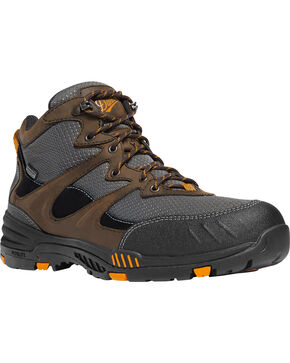 "Danner Men's Springfield 4.5"" Electrical Hazard Work Boots - Plain Toe, Multi, hi-res"