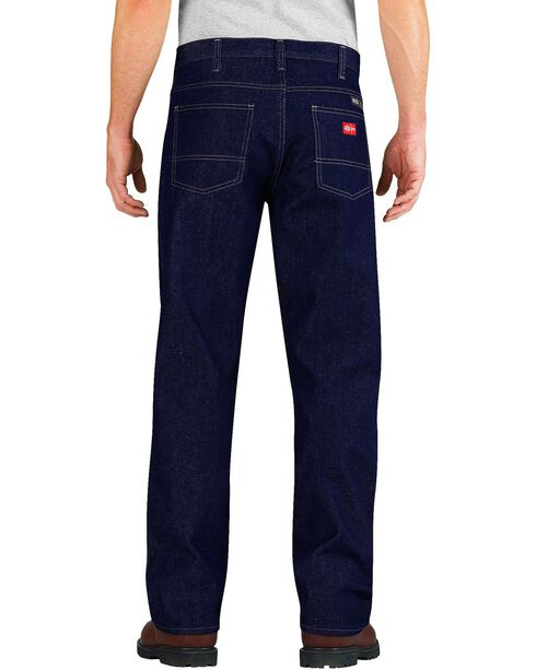 Dickies Relaxed Straight Leg Flame-Resistant Double-Knee Jeans, Indigo, hi-res