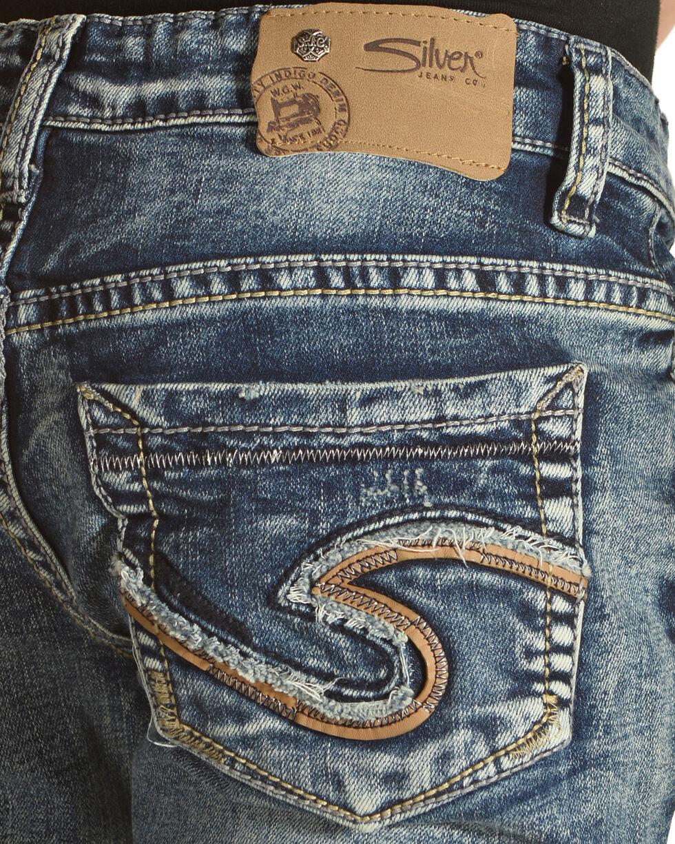 Silver Girls' Tammy Dark Wash Jeans - Boot Cut, Indigo, hi-res