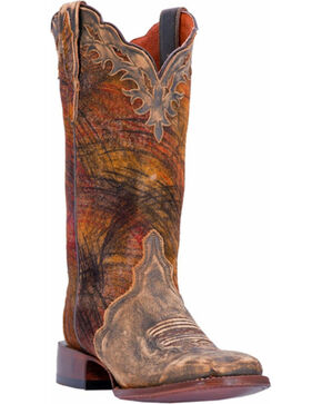 Dan Post Women's Margie Western Boots, Tan, hi-res