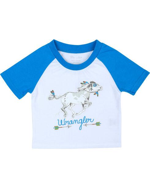Wrangler Infant Boys' Body T-Shirt, White, hi-res
