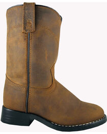 Smoky Mountain Toddler Boys' Roper Western Boots - Round Toe, , hi-res