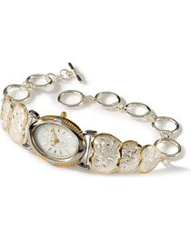 Montana Silversmith's Women's Triple Heart Watch, , hi-res