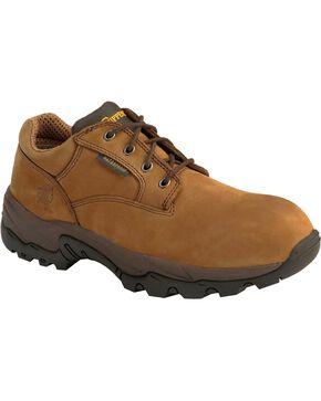 Chippewa Men's IQ Waterproof Composite Toe Oxfords, Bay Apache, hi-res