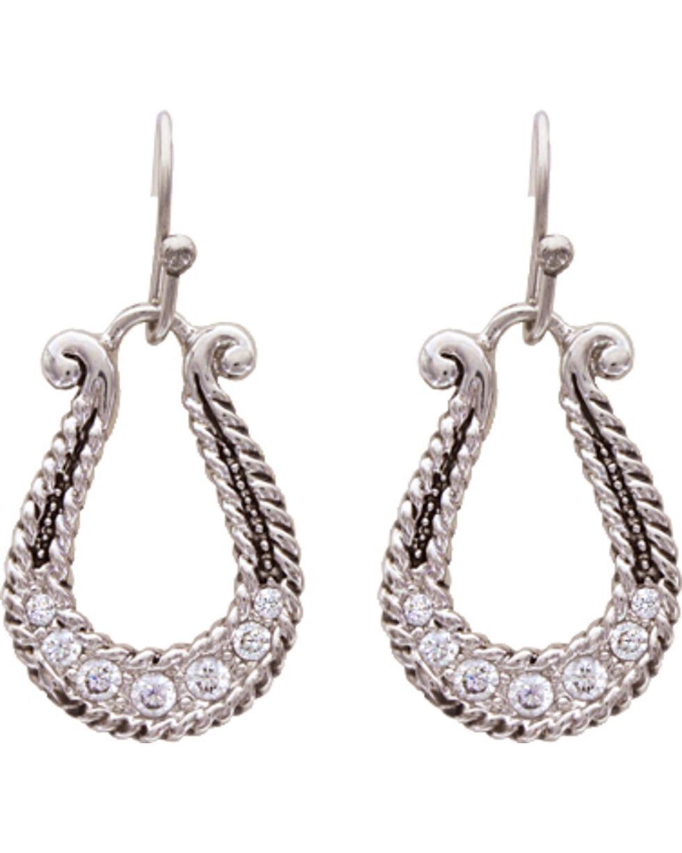 Montana Silversmiths Elegant Fortune Earrings, Silver, hi-res