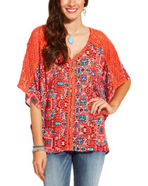 Ariat Women's Multi Bally Top, Multi, hi-res